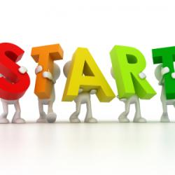 "Affiliate marketing tips for beginners is first to ""Start""."