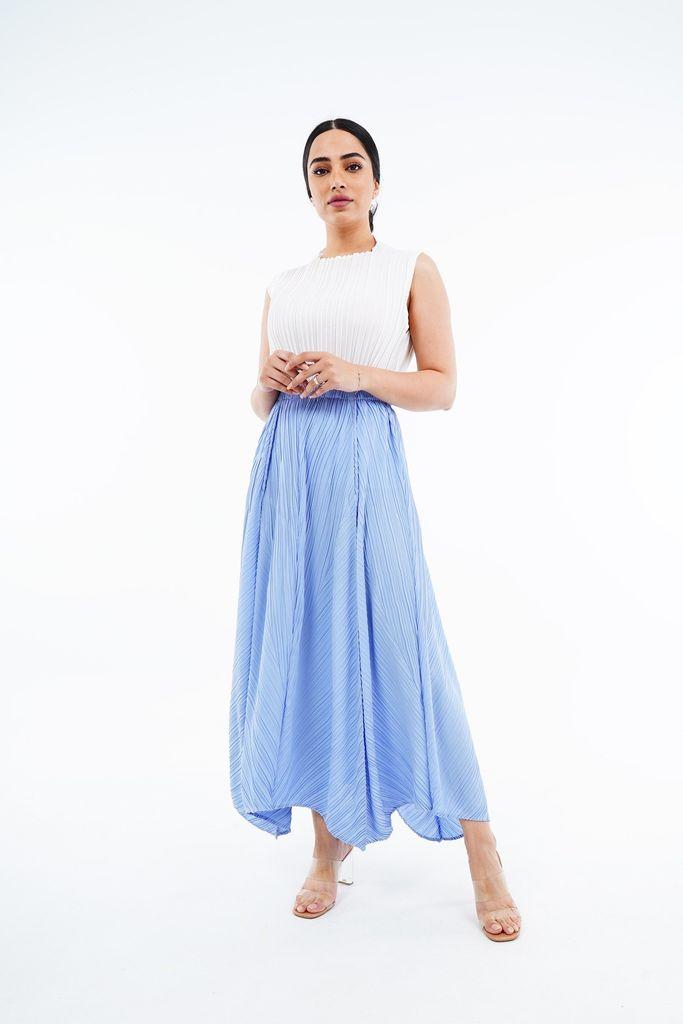 Samara Begonia A-Line Skirt