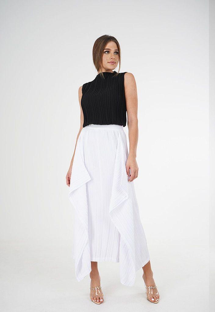 Sarama Drape & Layered Skirt