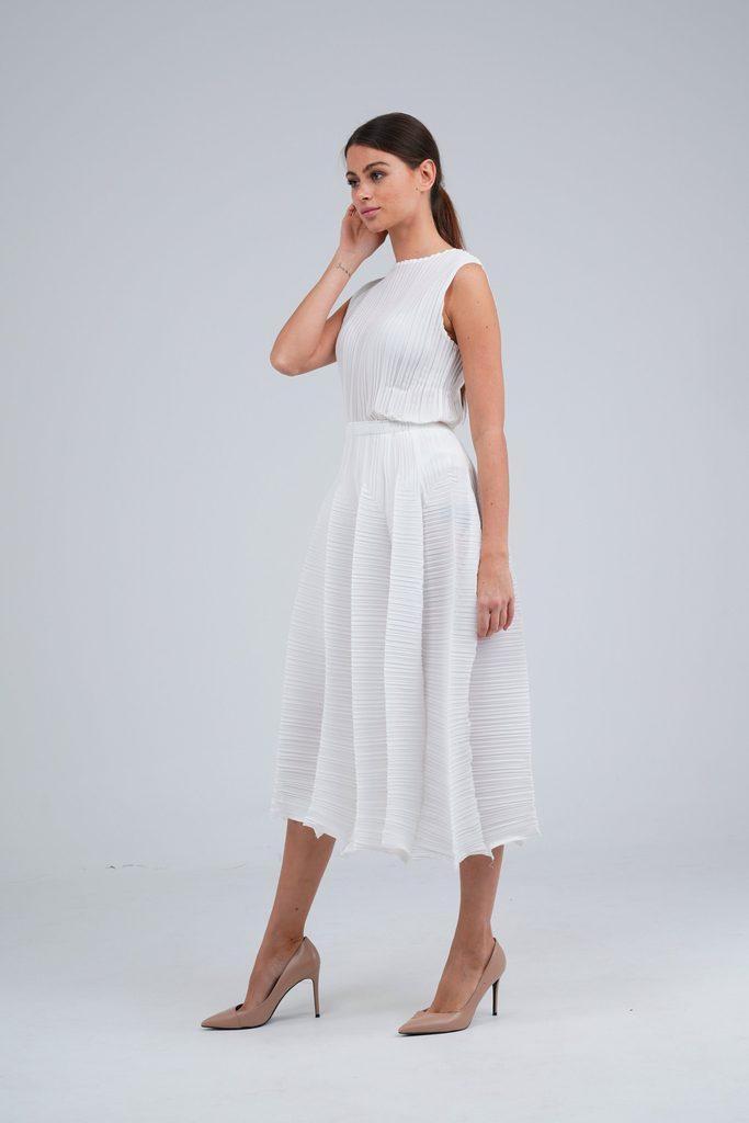 Symphony A-line Pleated Skirt