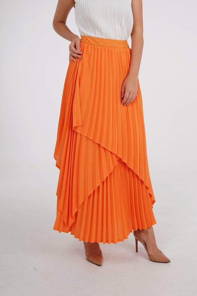 Savanna Tulip Wrap Skirt