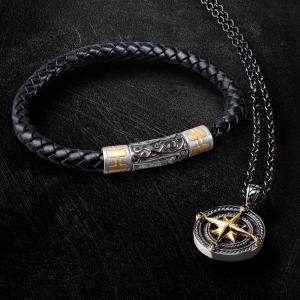 Stainless Steel Jewelry Supplier has to Offer You Amazing Men's Jewelries!