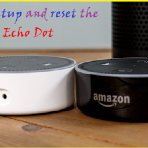 How to setup and reset the Amazon Echo Dot