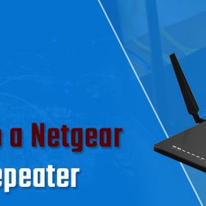 What are the Steps to Setup a Netgear Router as a Repeater