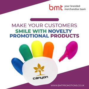 Make Your Customers Smile with Novelty Promotional Products