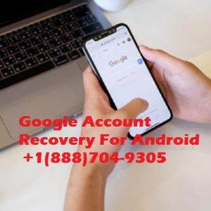 How do i set up recovery of Google account on android