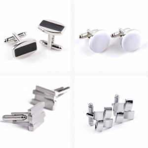 How to choose the custom cufflinks and tie clip on online store?