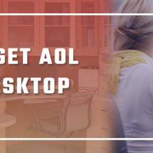 How do I get AOL on my Desktop