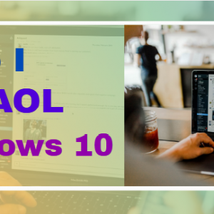 How do I install AOL on Windows 10
