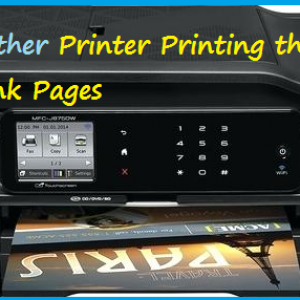 Brother Printer Printing the Blank Pages