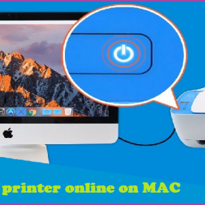 How to get HP printer online on MAC
