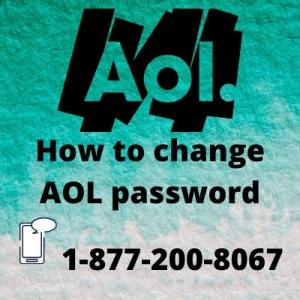 How to change AOL password