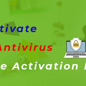 How Do I Activate My McAfee Antivirus using McAfee Activation Key