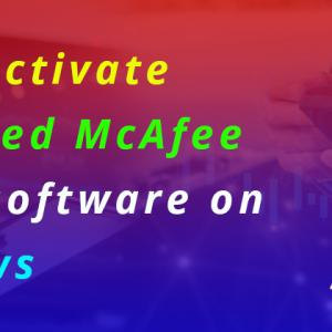 How Do I Activate Pre-installed McAfee Antivirus software on My Windows