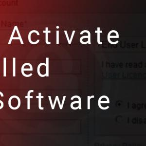 How do I Activate Pre-installed McAfee Software