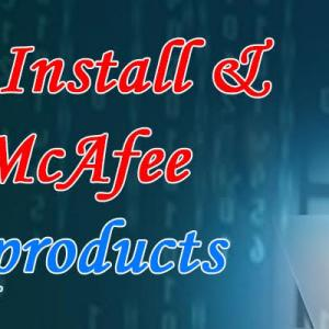 How do I Install and Activate McAfee consumer products