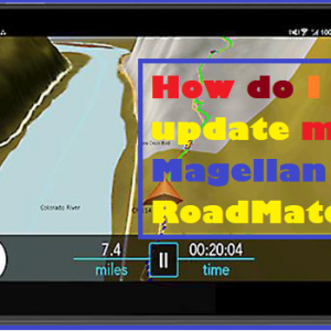 How do I update my Magellan RoadMate
