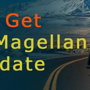 How to get a free Magellan Map Update