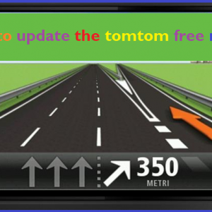 How to update the tomtom free map