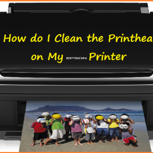 How do I Clean the Printheads on My Epson Printer