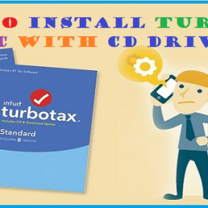 How to Install TurboTax on Mac with CD Drive