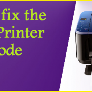 How to fix the Canon Printer Error Code 1700