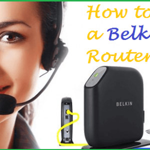 How to set up a Belkin router