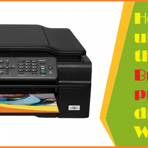 How to uninstall the Brother Printer drivers in Windows