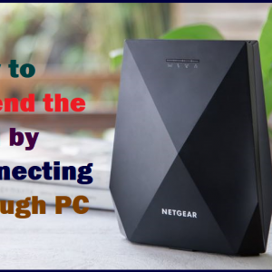 How to Extend the WiFi by Connecting through PC