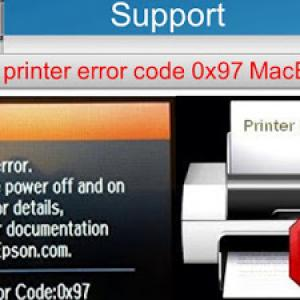 How to Fix Epson Printer Error 0X97
