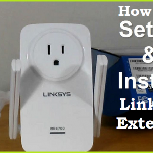 How to Setup and install Linksys Extender