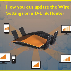 How you can update the Wireless Settings on a D-Link Router