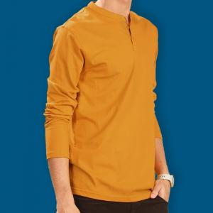 Henley Full Sleeve T-Shirt: Comfortable, Elegant And Affordable