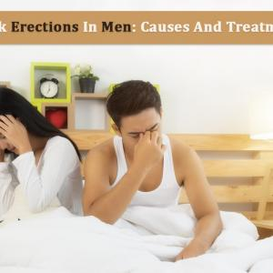 Weak Erection In Men: Causes And Treatments