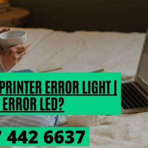 Flashing Error LED? Brother Printer Error Light | Dial 817 442 6637