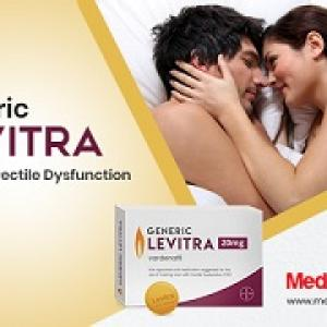 Generic Levitra Offers Best Results for Men with ED
