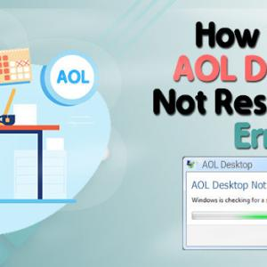 How to Resolve Can't Open AOL Desktop Gold Problem?