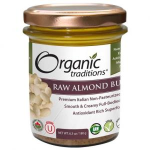 What are the health benefits of taking raw almond butter?