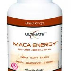 Accumulate sufficient amounts of energy with Brad King Ultimate Maca Energy