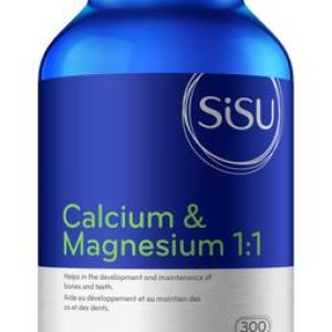 Sisu Calcium & Magnesium 1:1: The Best Bone Supplement