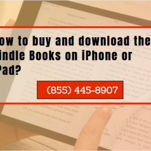 How to buy and download the Kindle Books on iPhone or iPad?