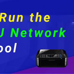 How Do I Configure My Network Connection with Canon IJ Network Tool