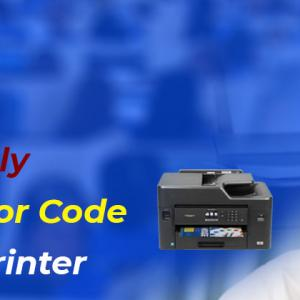 How can I Easily Resolve an Error Code from the HP Printer