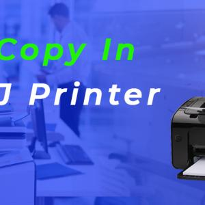 How do I Copy In Canon IJ Printer Setup