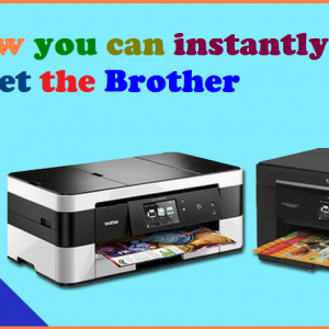 How you can instantly reset the Brother printer