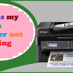 Why is my Epson printer not printing