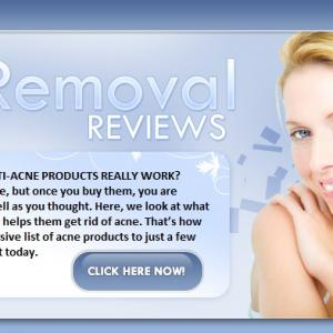 The best acne removal programs