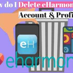 How to delete eHarmony account if your account was hacked
