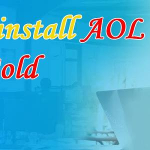 How do I install AOL Desktop Gold