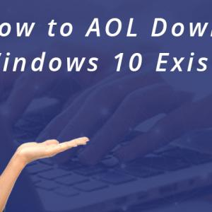 How to AOL Download for Windows 10 Existing Members